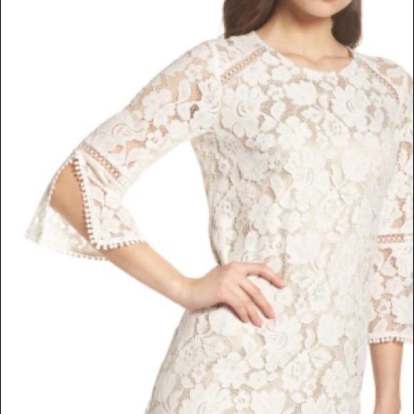 Vince Camuto Lace A Line Dress